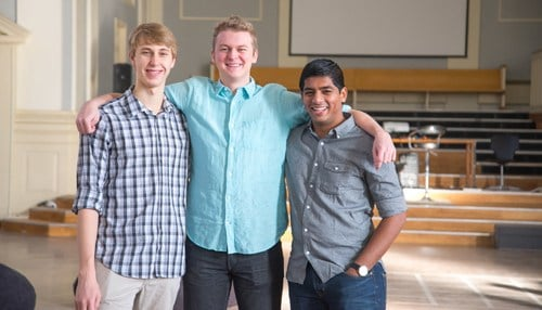 (Image of co-founders Colton Voege, Jacobi Petrucciani and Prahasith Veluvolu provided by Mimir.)