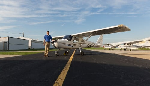 The university says it will partner with Eagle Aircraft's Flying School at Porter County on the effort.