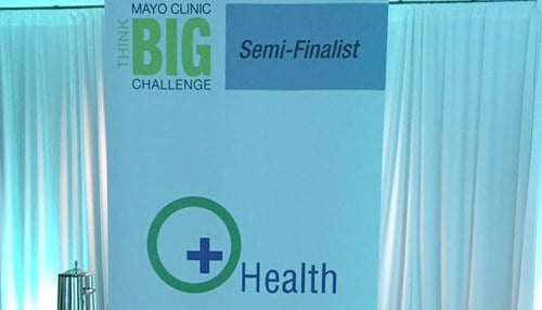 Green Circle Health was a 2015 semi-finalist in the Mayo Clinic's THINK BIG Challenge.