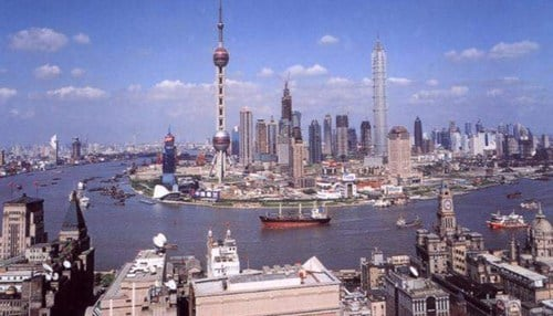 (Image courtesy of the Shanghai city government) One of the desinations includes a stop in Shanghai.