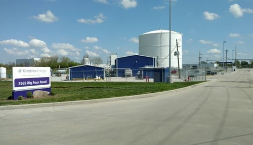 Kinetrex operates two liquefied natural gas production facilities in Indianapolis.