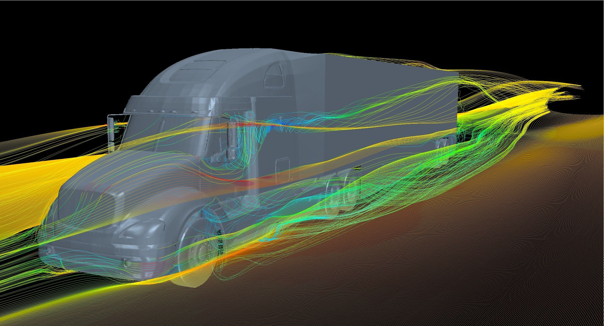 Models show the technology reduces drag by nearly 23 percent, yielding 11 percent fuel savings.