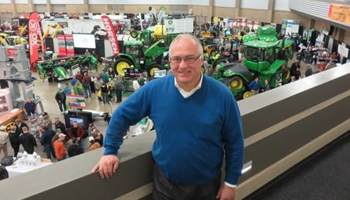 (Image courtesy of PNC) Warren Graeff, pictured at the 2017 Fort Wayne Farm Show.