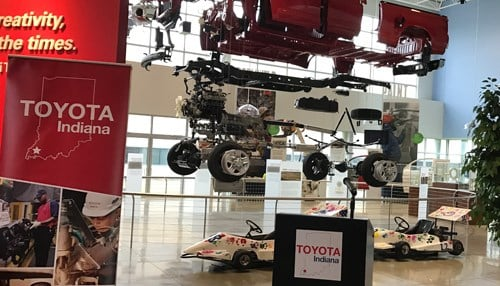 The celebration will take place at the Toyota Visitors Center in Princeton.