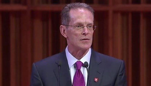 Mearns was introduced to Ball State in January.