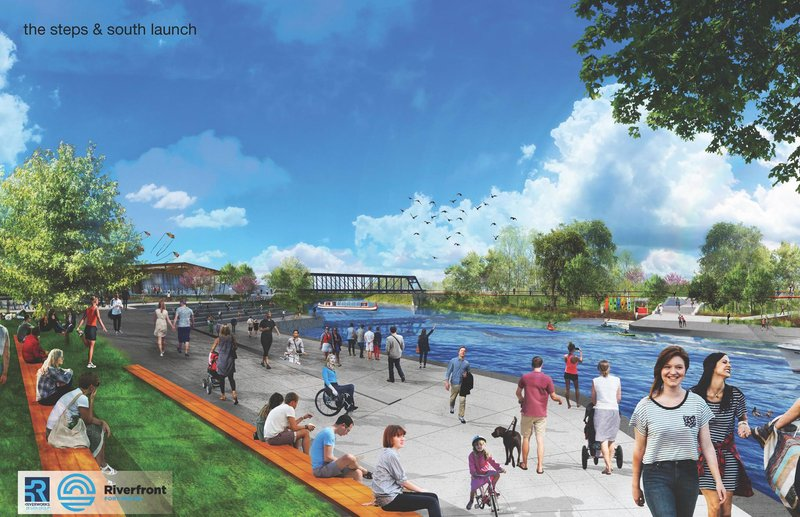 (Rendering courtesy of the city of Fort Wayne.)