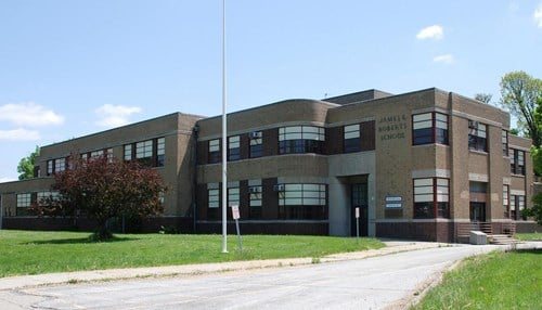 The school was the first of its kind in Indianapolis, featuring an indoor therapy pool and ramp system.