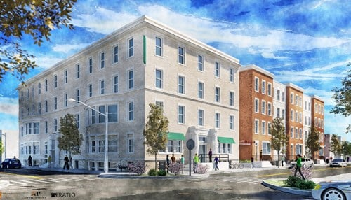 Developers plan to repurpose the original 1910 structure and build additional apartments on the property.
