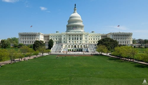 Image of Capitol Hill courtesy of The Architect of The Capitol.