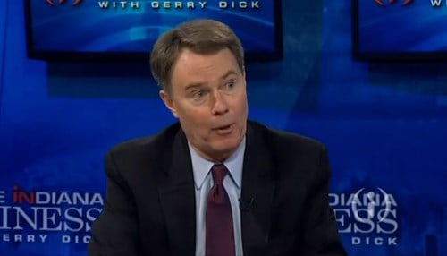 Indianapolis Mayor Joe Hogsett is in his first year in office.