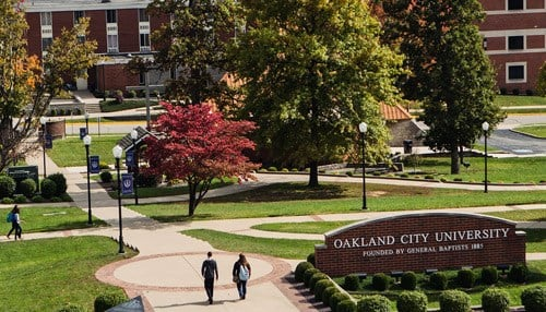 The work at Oakland City University will total nearly $15 million.