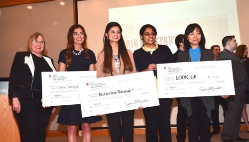 Last year, a concept called LookUp: Away won the top prize.
