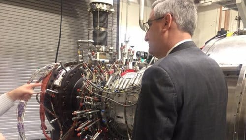 Governor Holcomb visited mutliple employers in northern Indiana during his visit.