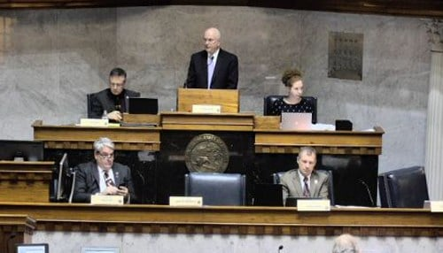 The bill is being heard in the Senate Education and Career Development Committee.