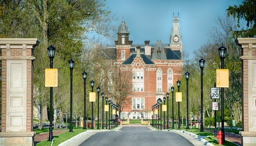 DePauw was founded in 1837.