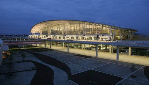 (Image courtesy of the Indianapolis International Airport.)