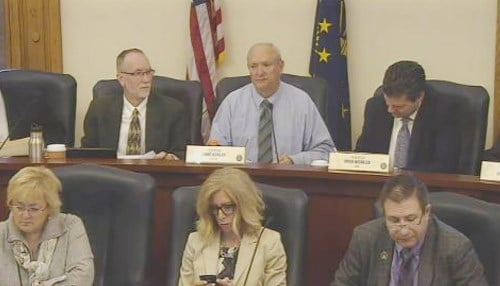 Luke Kenley (top row, center) chairs the Appropriations Commission.