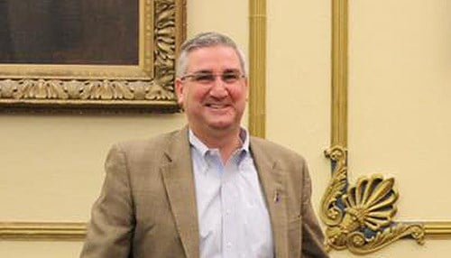 Holcomb's announcement is set for 10:00 a.m. Wednesday.