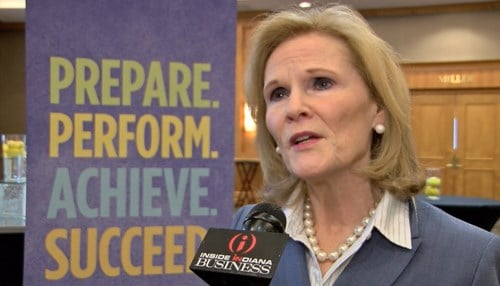 Indiana Commissioner for Higher Education Teresa Lubbers (file photo)