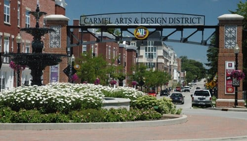 Carmel's addition of 2,977 residents was the highest in the state.