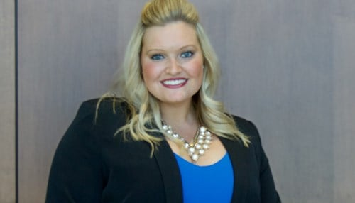Jentri Cripe, founder of Spread the Sparkle LLC, is winner of this year's Mirro Student Founder Award.
