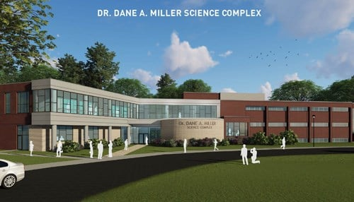 The facility's namesake, the late Dr. Dane Miller, was co-founder and 39-year president and chief executive officer of local orthopedic giant Biomet, now Zimmer Biomet.