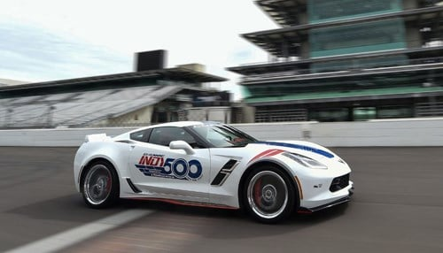 IMS unveils Corvette as Pace Car for 2017 Indy 500
