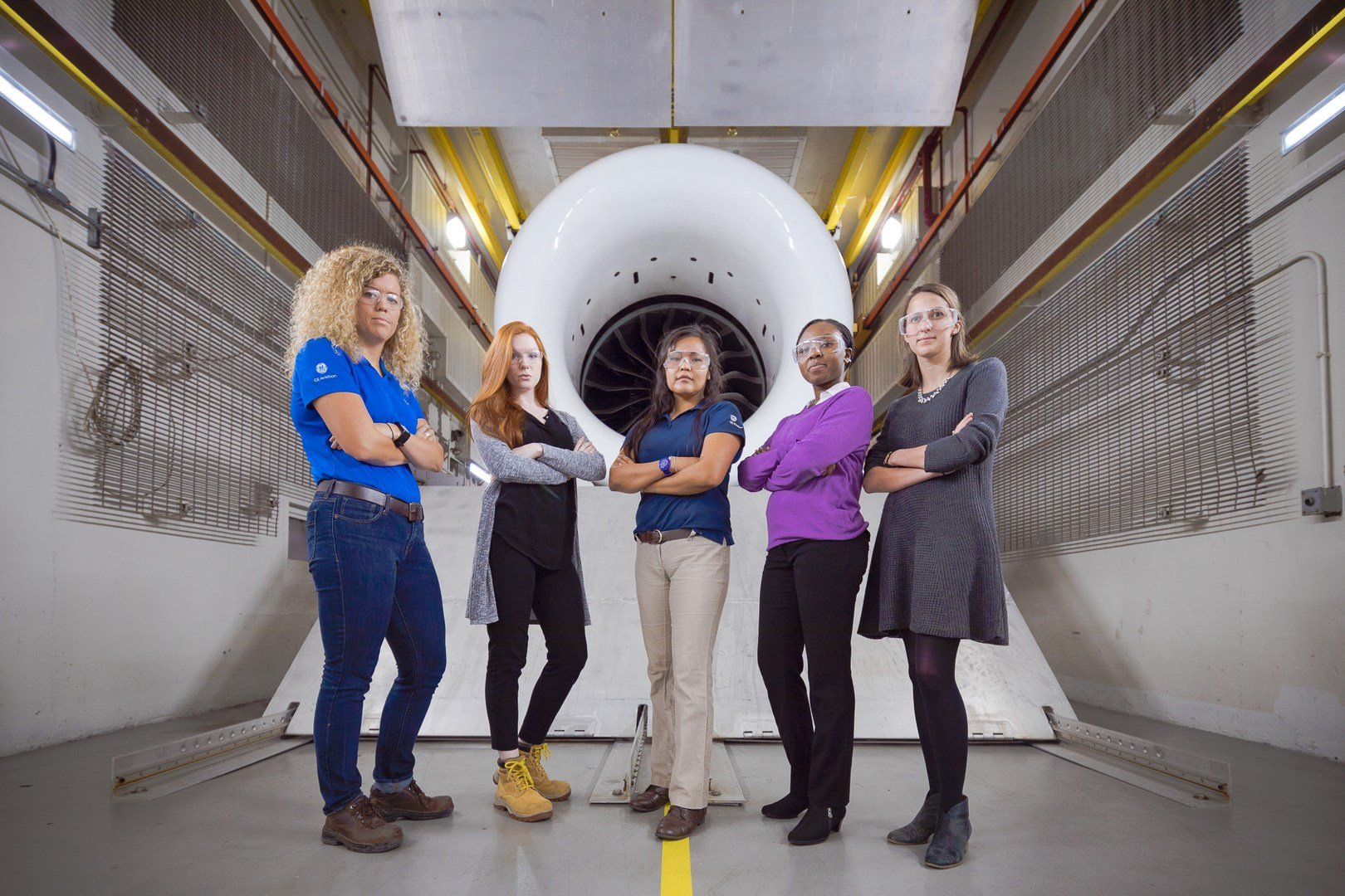The campaign calls for increasing the number of women currently in STEM roles at GE from just under 15,000 to 20,000.