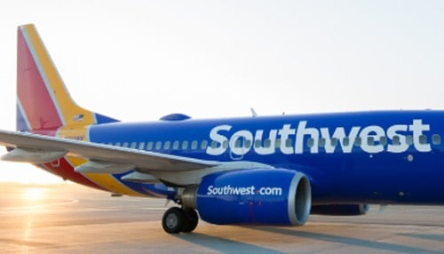 One-third of flights from Indianapolis International Airport use Southwest Airlines.