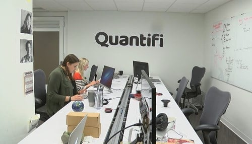 Quantifi currently has 10 employees.