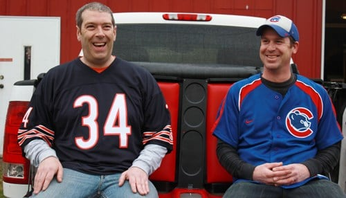 Ed Uehling (left) and Ben Bauer founded the company.