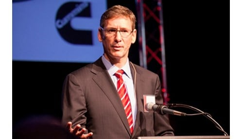 Cummins CEO Tom Linebarger (photo courtesy of Cummins Inc.)