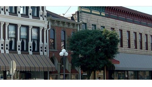 The grants will support efforts in communities including North Vernon. (Image courtesy of the city of North Vernon)