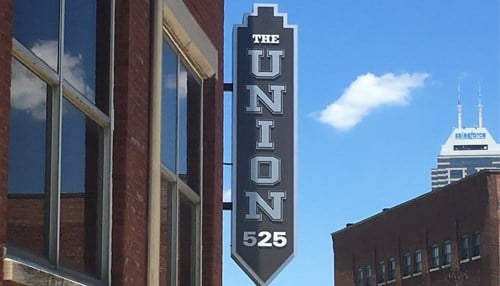 Launch Indy is located within The Union 525 in downtown Indianapolis.