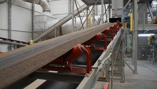 The facility is capable of producing 65,000 tons of fertilizer each year.