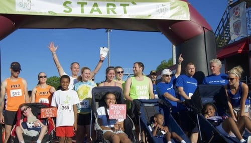 The 5K Run, Walk, Roll is set for Saturday at 8:00 a.m. at IUPUI.