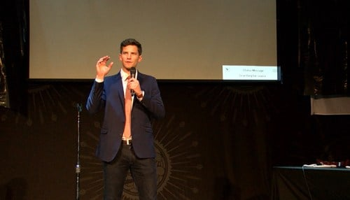 Verge made the announcement Thursday during an event at The Vogue in Indianapolis' Broad Ripple neighborhood.