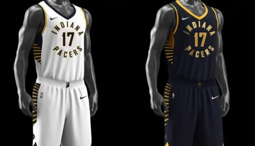 (Image of new jerseys courtesy of Pacers Sports & Entertainment)
