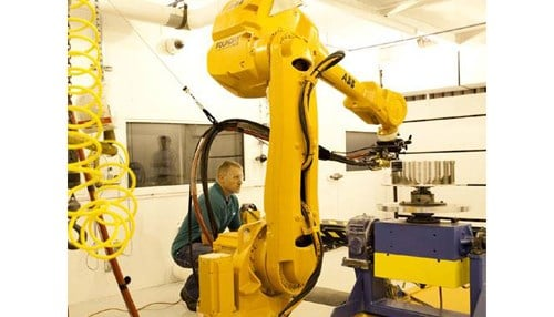 (Image courtesy of Praxair) The company and institution say the program will train dozens of prospective advanced manufacturing technologists.
