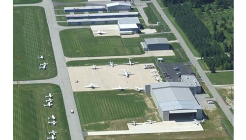 (Image courtesy of the DeKalb County Airport)