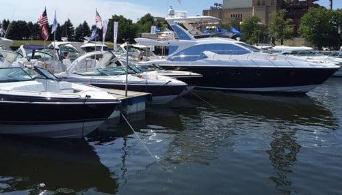 (Image courtesy of the Progressive Insurance Chicagoland In-Water Boat Show)