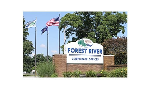 Forest River Inc. is headquartered in Elkhart.