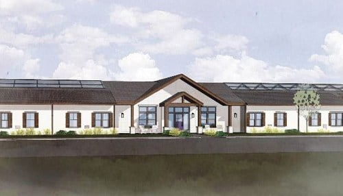Rendering provided to the Whitestown Plan Commission.