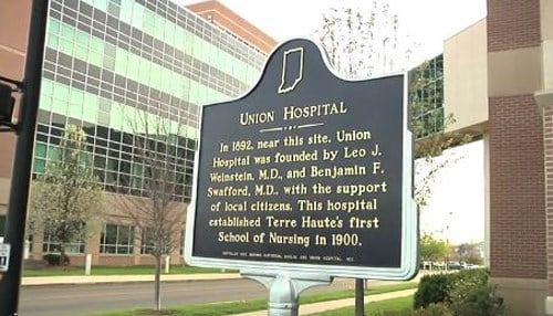 Union Hospital was founded in 1892 as the Terre Haute Sanitarium.
