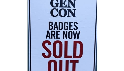 Gen Con 2017 is the event's first sellout in 50 years.