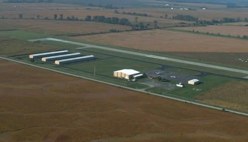 (Image of Starke County Airport courtesy of Jeff Dixon)