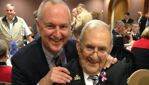 (Image of Bill Moreau [pictured left] and Don Moreau [pictured right] from 2014 courtesy of HVAF of Indiana Inc.)