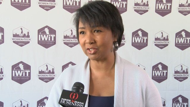 Mae Jemison served as the keynote speaker of the IWiT Summit.