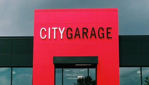 City Garage is located in the Port Covington area of Baltimore.