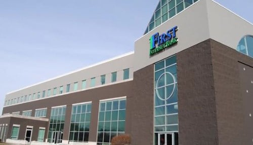 First Internet Bancorp is headquartered in Fishers.